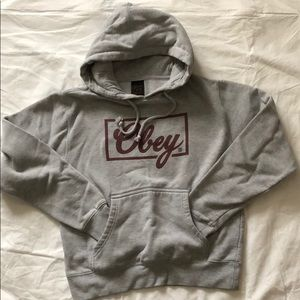 Obey hooded sweatshirt